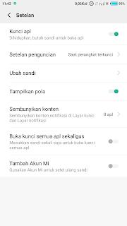cara mengunci aplikasi di xiaomi tanpa aplikasi tambahan
