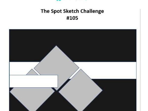 The Spot Sketch Challenge #105
