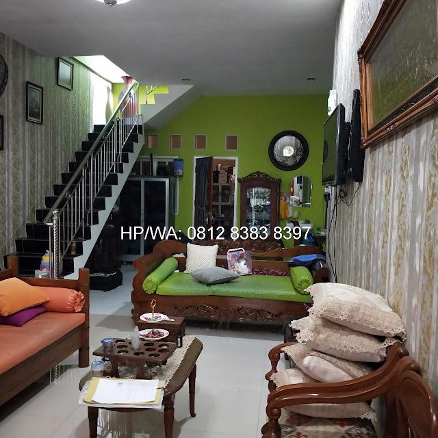 Ruang Tamu Jual Murah Rumah 2 Lantai, Lokasi Sangat Strategis, Di Pasar 1 Asam Kumbang Ring Road Medan Sumatera Utara