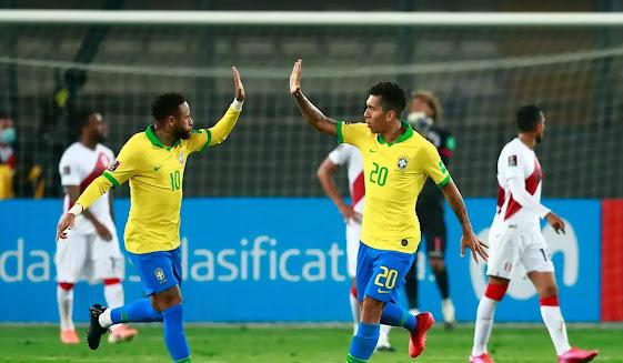 مباراة البرازيل ضد كولومبيا  كوبا امريكا 2020