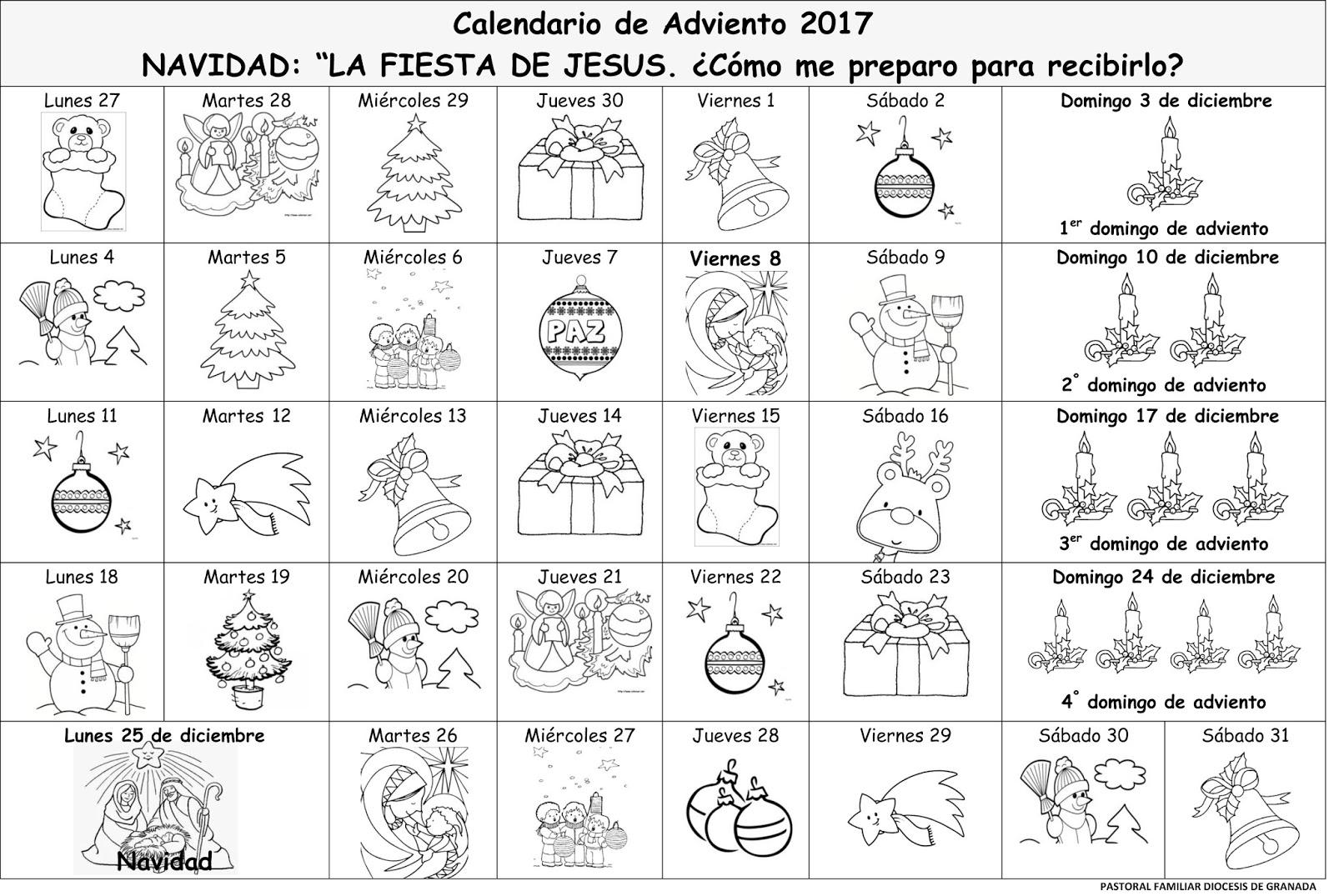 Dibujos De Velas De Navidad Para Colorear: Blog Del Profesorado De Religión Católica: Recursos De