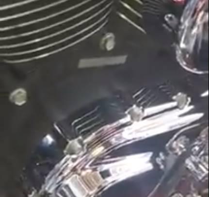 Letak Nomor Rangka dan Nomor Mesin Harley Davidson