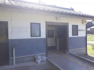 須原親水広場キャンプ場のトイレ