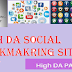 50+ New Social Bookmarking Sites List With High DA & PA 2020
