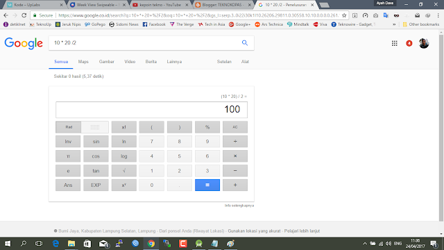 10 Trik Rahasia Google Search yang keren yang patut untuk dicoba