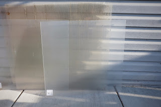 plastic acrylic sheet door awning cover