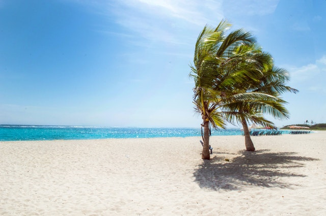 foto lanskap pantai