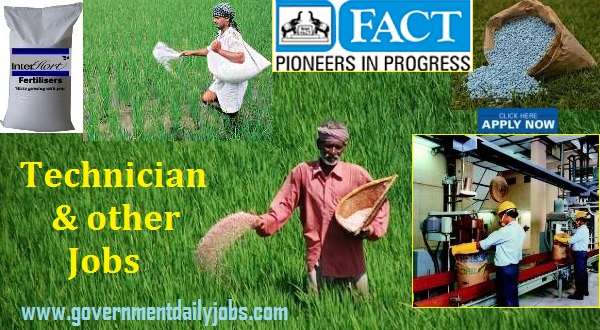 FACT Recruitment 2020 Technician & others