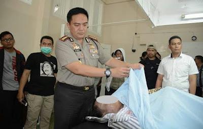 Polres Surabaya Tembak Mati Resedivis Pelaku Curanmor