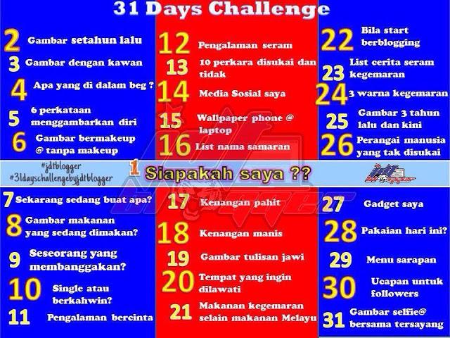 Day 19 Challenge: Gambar tulisan jawi.