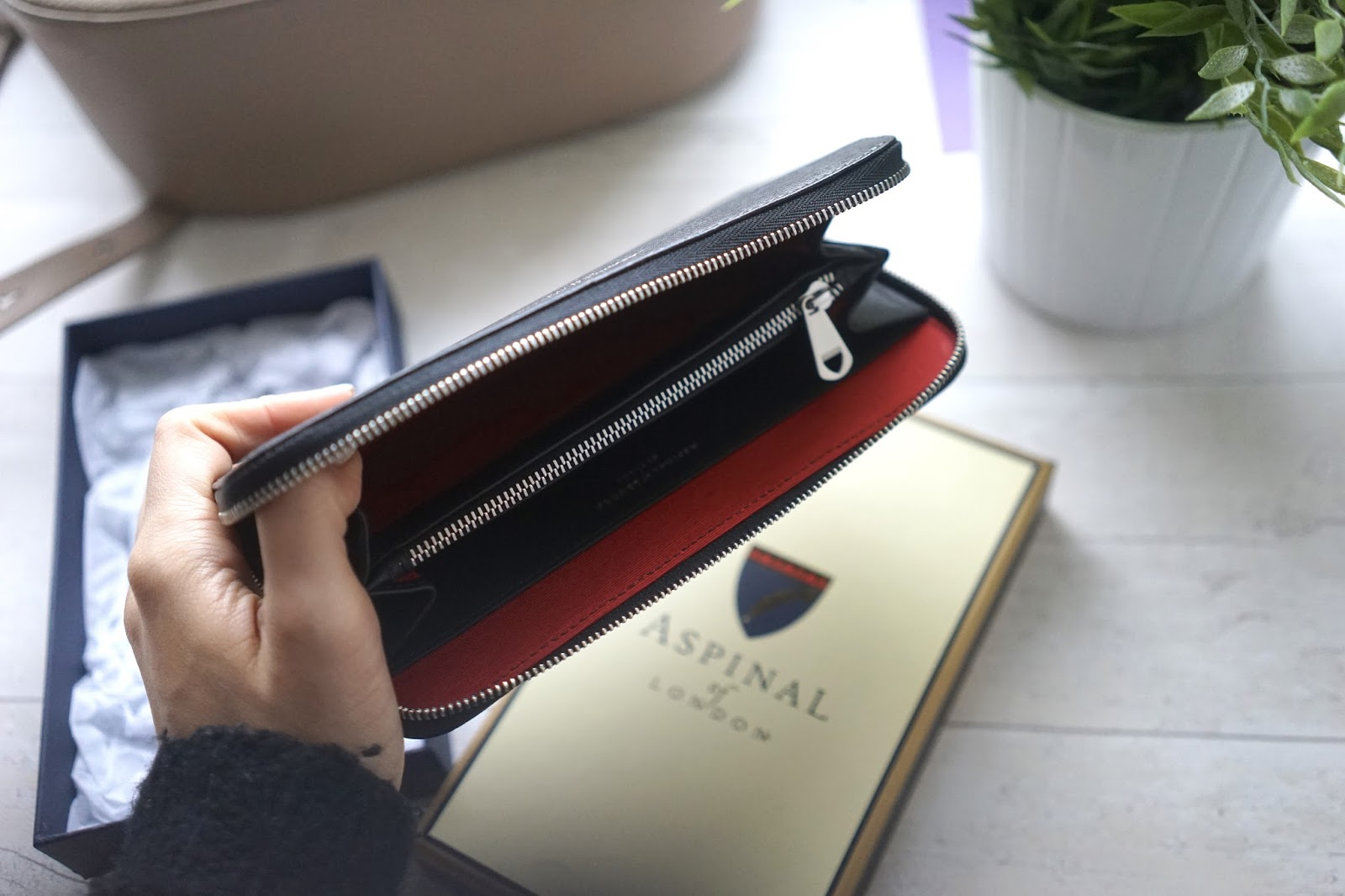 Aspinal Continental Zip Wallet