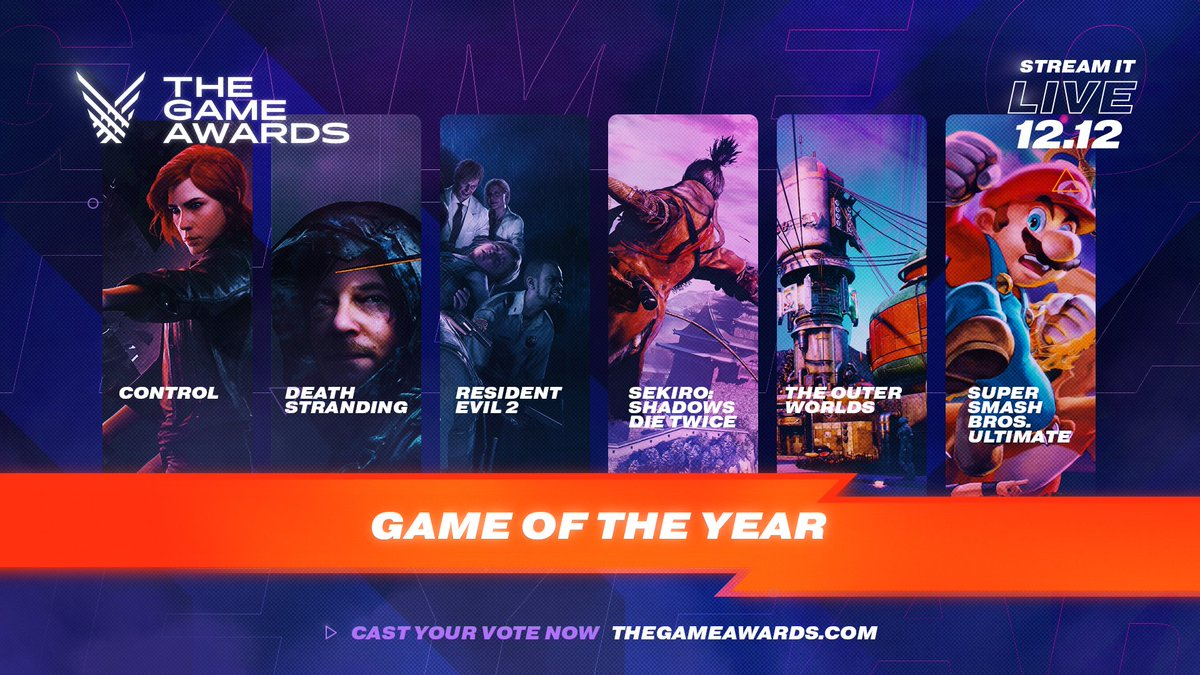 Nominasi Game Yang Masuk The Game Awards 2019
