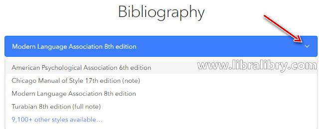 Membuat Bibliography Secara Online Menggunakan ZoteroBib