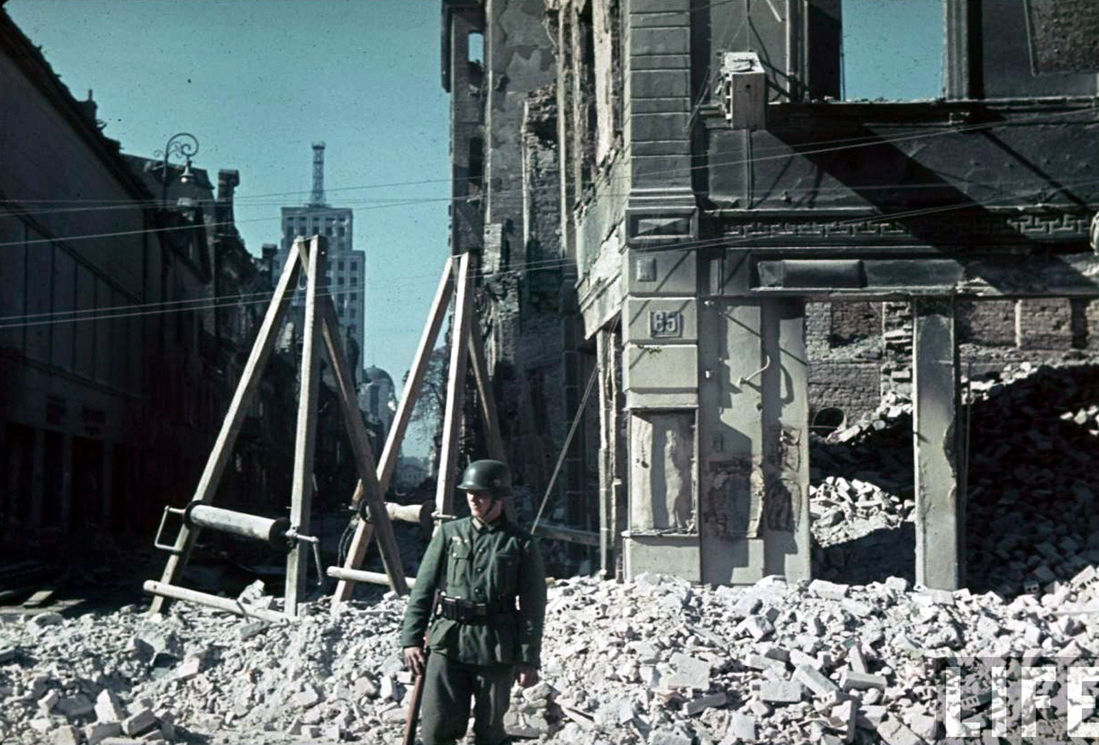 World War Ii In Color The Aftermath Of Theing Of Warsaw