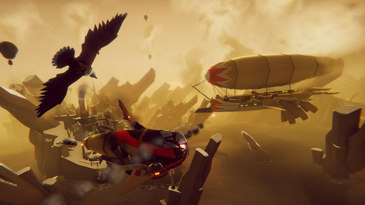 The Falconeer Review Fantasy Air-Combat