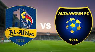 مشاهدة مباراة التعاون والعين بث مباشر اليوم في الدوري السعودي