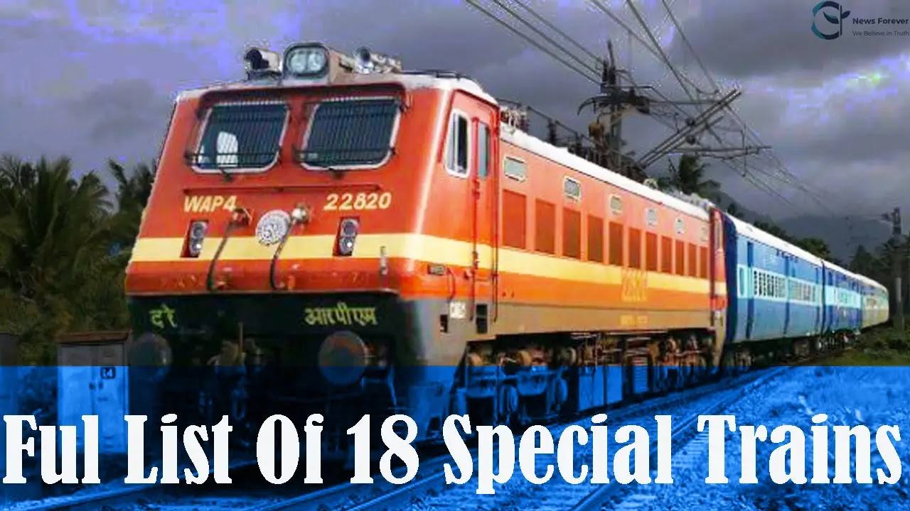 Indian Railways: Railways Extended The Operating Period Of 18 Special Trains, Know Where These Trains Run From