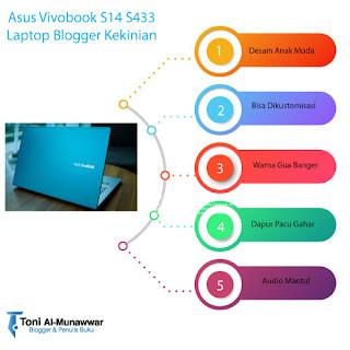 Asus Vivobook Laptop Blogger Kekinian