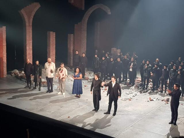 Tosca Théâtre Arts Rouen grand moment d'opéra