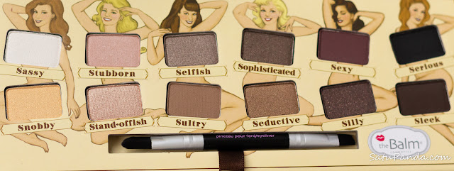 theBalm Nude tude тени на каждый день