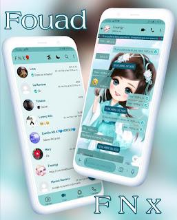 Anime Baby Girl Theme For YOWhatsApp & Fouad WhatsApp By Ave fénix