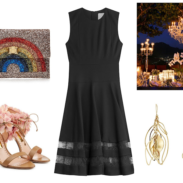 The perfect LBD for a summer party