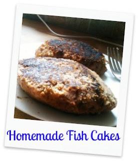 My Grandparents Homemade Fishcakes