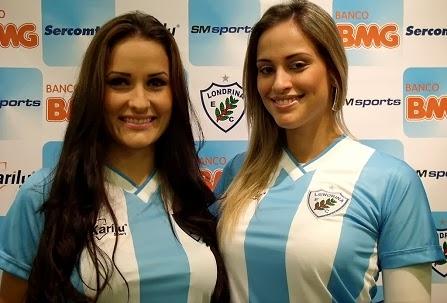 83d218751 Karilu divulga as novas camisas do Londrina. A empresa de material esportivo  ...