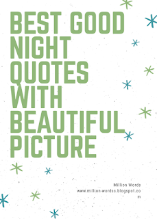 Best Good Night Images With Beautiful Quotes For Family, Friends & Lover
