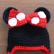 Minnie Mouse with red bow