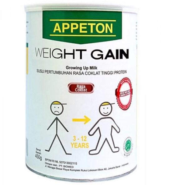 Daftar Harga Susu Appeton Weight Gain Terbaru Agustus 2017