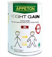 Harga Susu Appeton Weight Gain