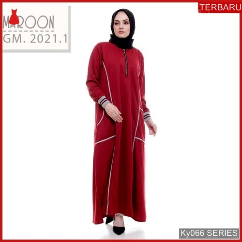 Ky066g58 Gamis Muslim Inayah Murah Dress Bmgshop Terbaru