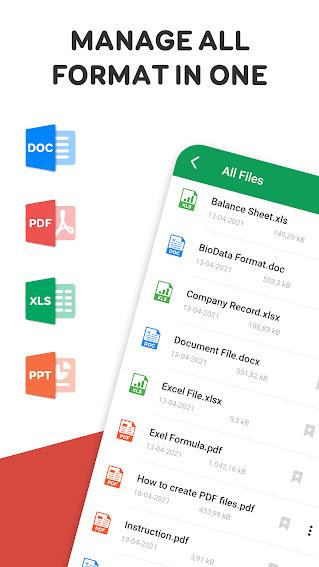 تحميل تطبيق قراءة جميع المستندات - Word Excel PDF Reader APK