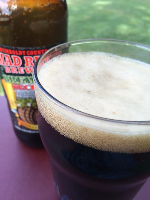 Mad River Brewers Secret Vanilla Barrel Porter 2