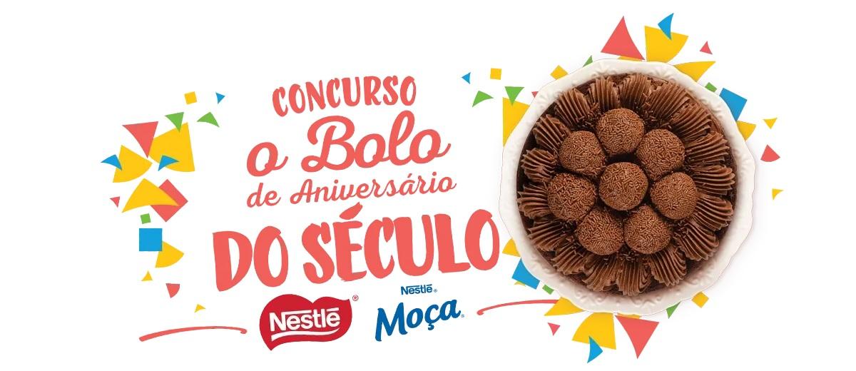 Participar Concurso Bolo de Anivesário do Século Nestlé Professional