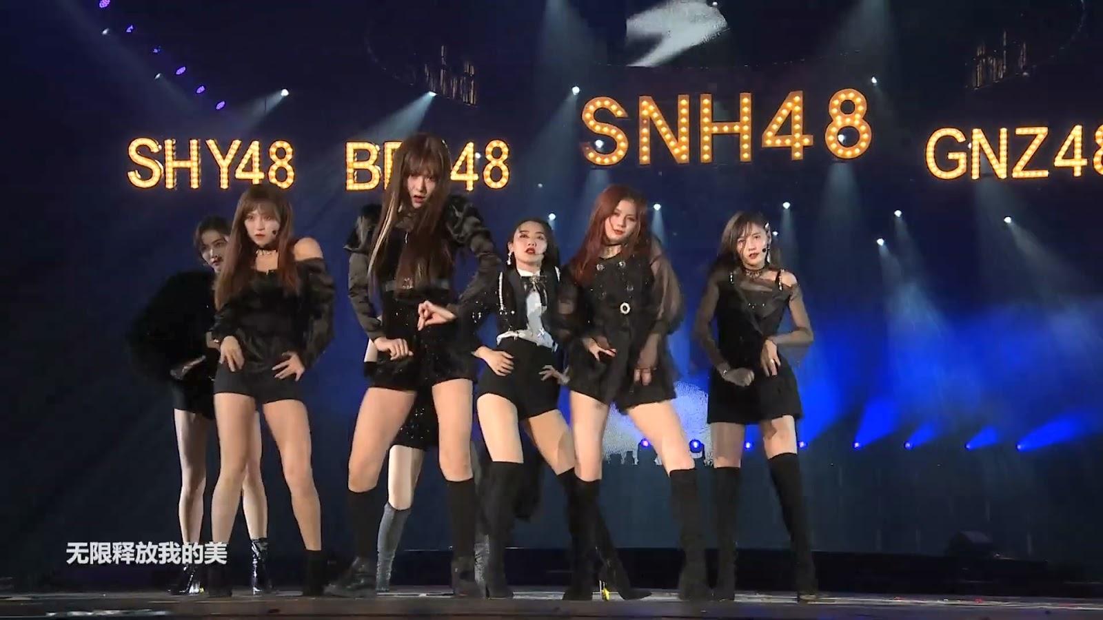 All About GIRLS' K-POPSNH48のK-POPスタイルユニット7SENSES、第5回リクエストアワーBEST50で最新曲「SWAN」を披露…昨年末の音楽番組以来の豪華なステージ