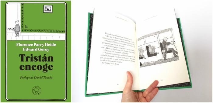 cuentos y libros infantiles juveniles para +8, 12 años tristan encoge