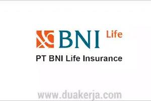 Lowongan Kerja BNI Life Insurance Terbaru 2019