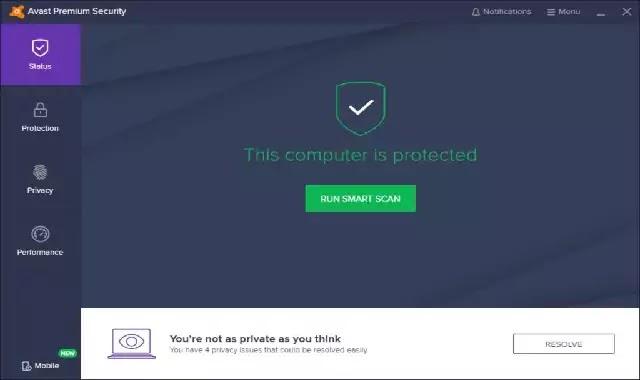 تنزيل افضل برنامج حماية الكمبيوتر من الفيروساتAvast Premium Security 20.8.2432 مجانا