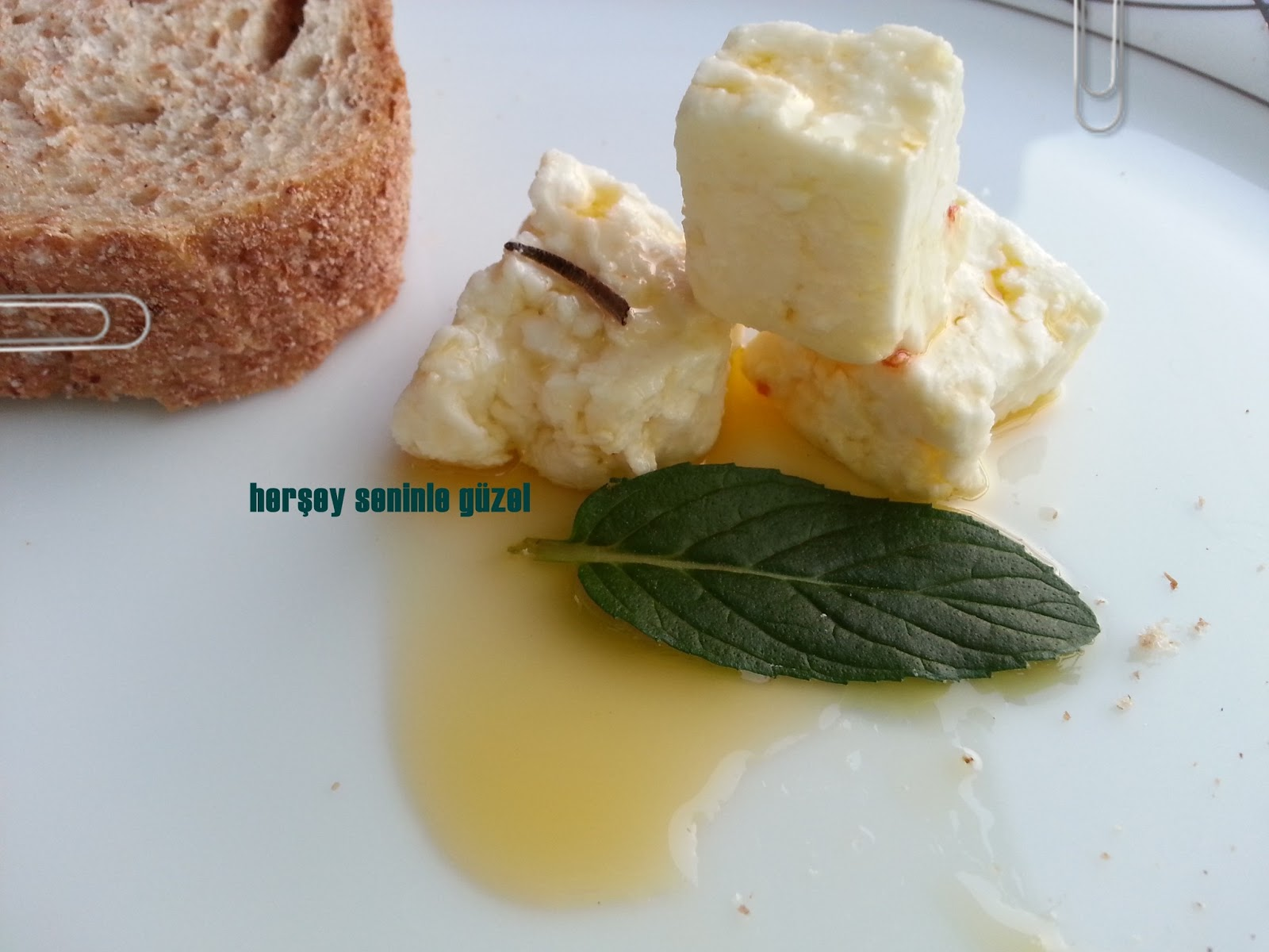 Kahvaltılık Marine Edilmiş Peynir Tarifi
