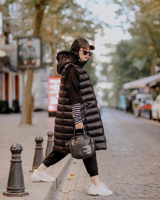 افضل اسلوب الحجاب الشتاء