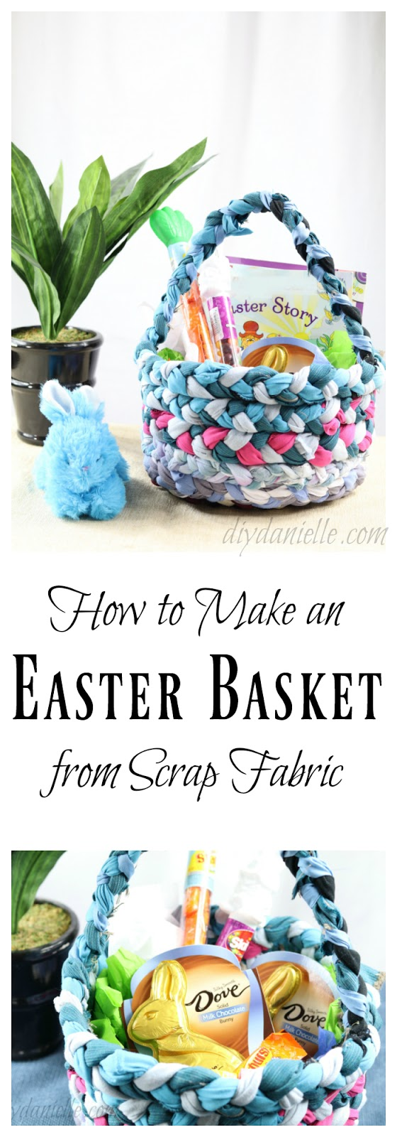 Learn to Hand Sew a DIY Easter Basket
