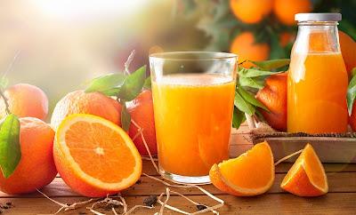 طريقة تحضير عصير حامض البرتقال
