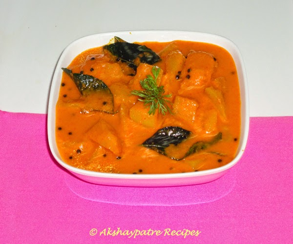 ambe sasam in a serving bowl