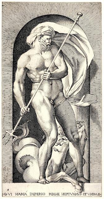 Giovanni Jacopo Caraglio: Nettuno regna sui mari