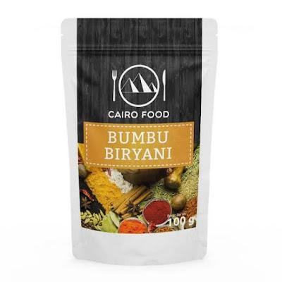 cairo food bumbu membuat nasi biryani khas timur tengah