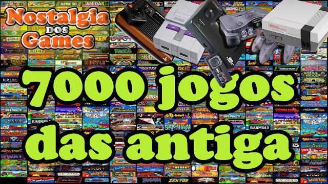 Pack com 7000 jogos das antigas pra voce jogar no PC