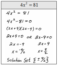 OpenAlgebra.com: Solving Quadratic Equations and Graphing