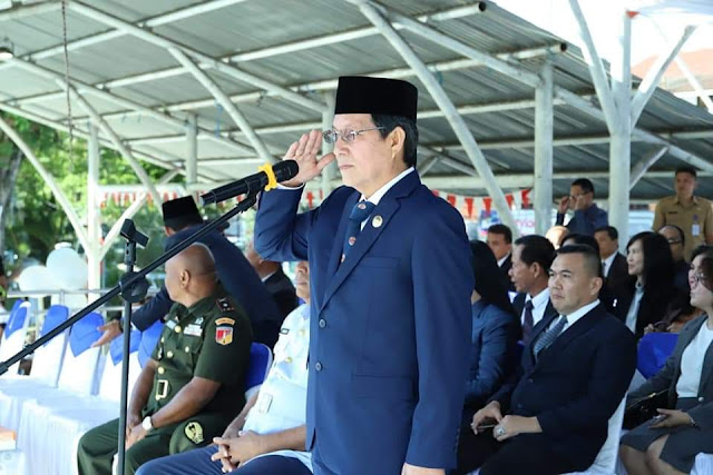 Walikota Manado Jadi Irup Upacara Hari Guru Nasional 2019
